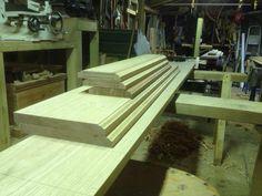 Hand moulded oak