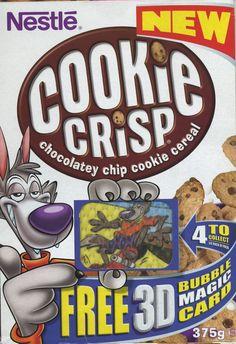 Cookie Crisp - 3D Bubble magic Card UK ©2002 Société des Produits Nestlé S.A.