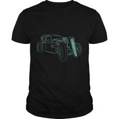 Hot Rodder car t shirt