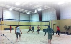 The Sandbox - Indoor Beach Volleyball - this place totally ROCKS!!
