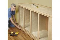 Built-ins That Blend In | WOOD Magazine