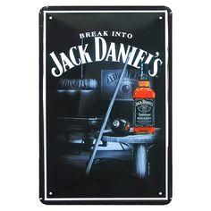 Placa de Metal Jack Daniel´s Pub