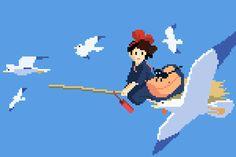 8-Bit Tribute To Studio Ghibli Movies. - Imgur