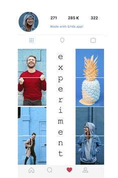 Creative ideas for your Instagram feed! #puzzle #collage #instafeed Instagram Feed Theme Layout, Instagram Feed Ideas Posts, Insta Layout, Creative Instagram Photo Ideas, Feeds Instagram, Instagram Grid, Cool Instagram, Instagram Design, Creative Ideas