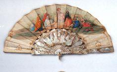Folding fan, Vienna 1860/70 ____________________ Faltfächer @ Wien Museum