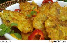 Kuřecí bramboráčky Cauliflower, Recipies, Food And Drink, Chicken, Meat, Vegetables, Ds, Recipes, Head Of Cauliflower