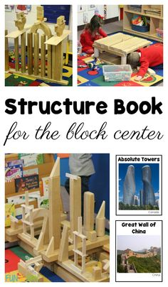 Book of world structures for the block center
