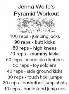 jenna wolfe's pyramid workout