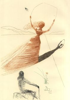 See Salvador Dali's Illustrations for the 1969 Edition of Alice's Adventures in Wonderland