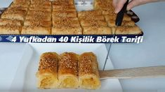 Best All Time Cake : 4 Yufkadan 40 Person Pastry Recipe, Turkish Recipes, Pastry Recipes, Easy Cake Recipes, Recipe For 4, Tea Time, French Toast, Brunch, Food And Drink, Cooking