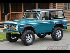 1974 Ford Bronco Green - I think this is the color for the bronco! Can't wait to get it painted! Classic Bronco, Classic Ford Broncos, Ford Classic Cars, Classic Trucks, Jeep Truck, Gmc Trucks, Cool Trucks, Pickup Trucks, Lifted Trucks