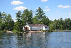 St Peter's on-the-Rock Anglican Church, Stoney Lake, Ontario This church is water accessible only. Lake Pics, Lake Pictures, Peterborough Ontario, Wedding Stuff, Wedding Ideas, Anglican Church, Durham Region, Close To Home, Cathedrals