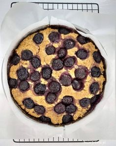 Ciasto z czereśniami.