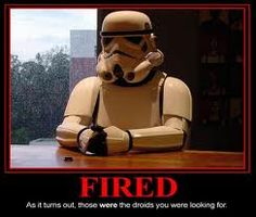 You need a dumb stormtrooper, this is your guy!
