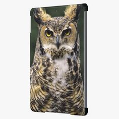 It's cool! This Great Horned Owl (Bubo virginianus), full body Cover For iPad Air is completely customizable and ready to be personalized or purchased as is. Click and check it out!