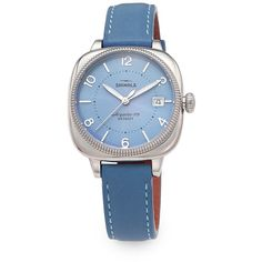 Designer Clothes, Shoes & Bags for Women Stainless Steel Jewelry, Stainless Steel Watch, Coin Jewelry, Jewelry Watches, Jewellery, Shinola Detroit, Periwinkle, Casting Crowns, Wristwatches