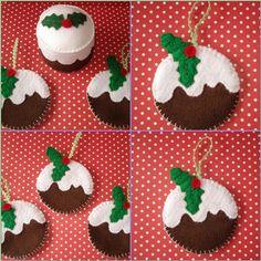 cupcake cutie: Xmas Ornaments