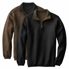 Reversible Quarter-Zip Pullover
