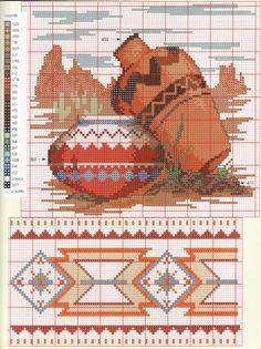 Cross Stitch Needles, Cross Stitch Charts, Counted Cross Stitch Patterns, Cross Stitch Embroidery, Embroidery Patterns, Native American Patterns, Cross Stitch Pictures, Tapestry Crochet, Cross Stitch Flowers