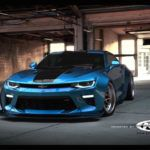 2016 Chevrolet Camaro Gets Extreme Liberty Walk Kit As Rendering Frontview