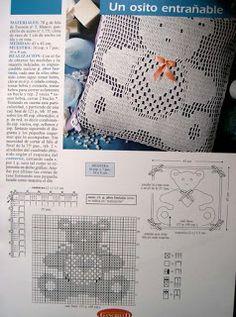 BEBE CROCHÊ: Almofada de Croche