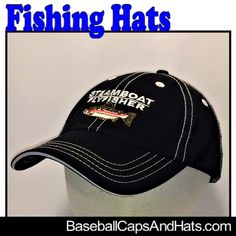 Baseball Caps, Gifts For Men, Trucker Hats by BaseballCapsAndHats Fishing Hats, Games Today, Trout Fishing, Fashion Group, Men Cave, Baseball Cap, Latest Trends, Etsy Handmade, Small Businesses