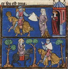 BeineckeMS.229 Arthurian Romances (1275-1300)