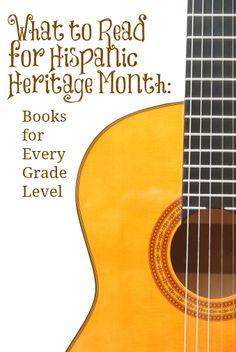 Four book picks for Hispanic Heritage Month. #weareteachers