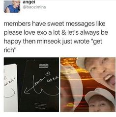 GET RICH AND PAY FOR EXO MERCHS AND ALBUMS UR GONNA REMEMBER THIS