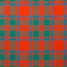MacIntosh Modern Lightweight Tartan by the meter – Tartan Shop