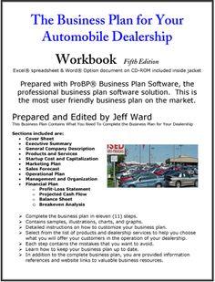 Auto dealership business plan