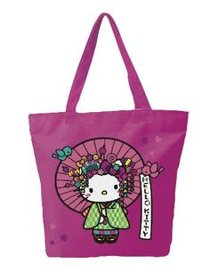 Hello Kitty NUGEISHA Canvas Tote Bag