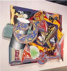 Visit the post for more. Abstract Sculpture, Sculpture Art, Abstract Art, Frank Stella Art, York Art Gallery, Post Painterly Abstraction, New York Art, Collage Art, Collages