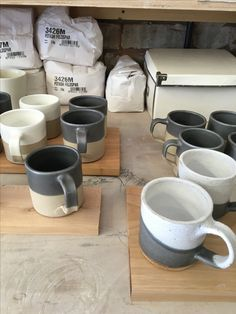 A sneak peek at our new ceramics homeware collection by deVOL, all handmade at our studio at Cotes Mill, Leicestershire