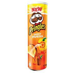 -in USA-Pringles Sweet Paprika-Sweet pepper- potato chips-190g