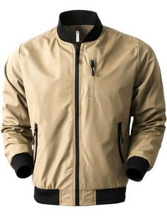 VW Mens Tech Waterproof Bomber Jacket (VW6060)