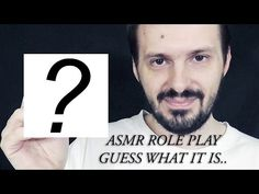 ASMR Binaural Role Play Guess What It Is #1
