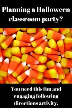 Following Directions and Listening activity that is perfect for a classroom Halloween party. Easily modified to fit grades 3 - 8. This activity is a great tool to include academics and structure into your classroom Halloween party. Listening Activities, Active Listening, Listening Skills, Classroom Activities, Classroom Ideas, Listening And Following Directions, Following Directions Activities, Creative Thinking Skills, Classroom Halloween Party