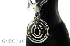 Stainless Steel Circle Pendant GMBC Fet Club