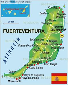 maps of fuerteventura - Google Search