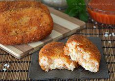 medaglioni di riso con mozzarella