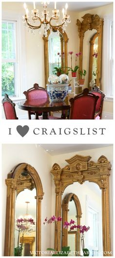 Decorating Our Victorian Home Via Craigslist