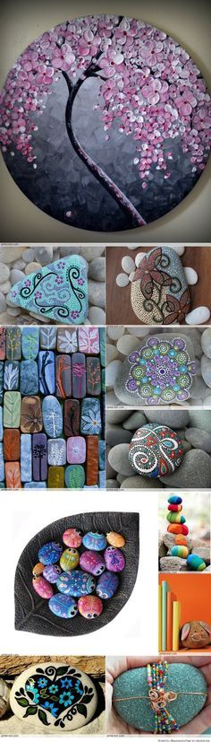 Great Idea for Stone Art                                                                                                                                                     Mehr