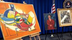 Man pleads guilty, sentenced to prison in $12-million Encino art heist A 45-year-old man who tried to sell $12 million worth of stolen paintings by Marc Chagall and other noted artists to undercover FBI agents was sentenced Friday to four years and four months in prison. http://www.latimes.com/local/lanow/la-me-ln-la-art-heist-sentence-20150213-story.html