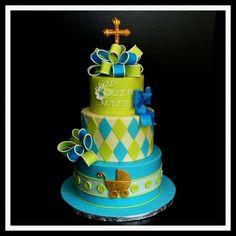 Childrens Cakes  Baptism Cake