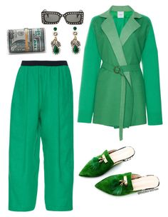 """""""Untitled #124"""" by theblkbradshaw on Polyvore featuring Agnona and Gucci"""