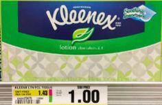 FREE Kleenex Tissues at ShopRite
