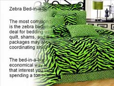 There's just one thing concerning the stunning black and white mixture of zebra print that produces home bedding seem so luxurious. Find zebra bedding of all types simply at zebraprintbeddingsets.com