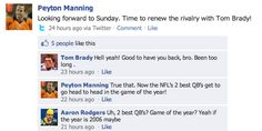 PART 2 HERE -The NFL's Elite QBs Throwdown On Facebook: Part 2