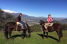 Horseback Riding in the Andes from Santiago Explore the majestic Andes landscape on horseback during this 7-hour tour. Hear about life on the mountain from an Arrieros, a traditional mountain herder, who will be your guide for the day. Enjoy a box lunch with wine as you relax surrounded by beautiful mother nature.Begin your tour with convenient hotel pickup. Get a sense of life in the Andes from guides who make their home there. Live a unique experience in the Andes mountain r...